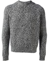 Carven Thick Knit Sweater - Lyst