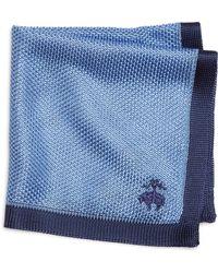 Brooks Brothers Knit Pocket Square - Lyst