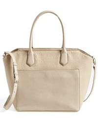 Halogen - 'Pioneer Square' Leather Tote - Lyst