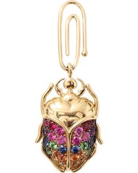 Aurelie Bidermann | Large Beetle Charm | Lyst