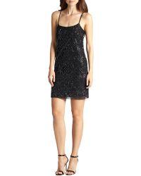 Needle & Thread Beaded-Pattern Chiffon Dress - Lyst