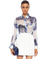 Lover Full Bloom Floaty Shirt - Lyst