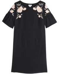 Alice By Temperley Mini Embroidered Poppy Dress - Lyst