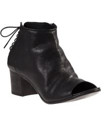 275 Central Laced Back Bootie Black Leather - Lyst