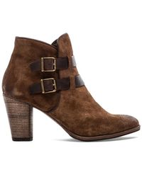 NDC Brown Sharon Bootie - Lyst