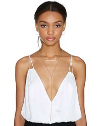 Nasty Gal Bruna Necklace - Lyst