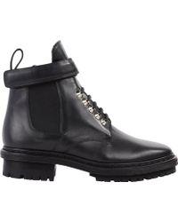 Balenciaga Biker Ankle Boots - Lyst