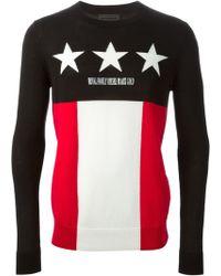 Diesel Black Gold Star Royal Family Sweater - Lyst