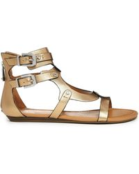 Report Signature Lastro Gladiator Flat Sandals - Lyst