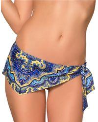 Becca Tangier Skirted Hipster Bottom - Lyst