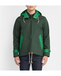 Band Of Outsiders Mackintosh Bonded-cotton Pullover Jacket - Lyst