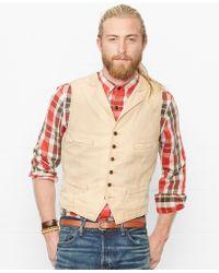 Denim & Supply Ralph Lauren Cotton Canvas Vest - Lyst