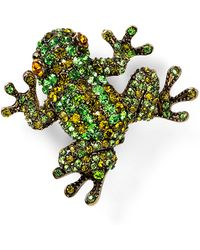 Carolee - Frog Pin - Lyst