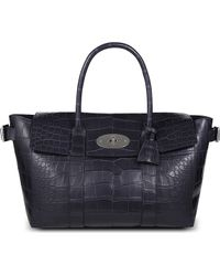 Mulberry Bayswater Buckle Tote - Lyst