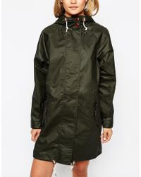 Fred Perry - Parka With Fish Tail - Lyst
