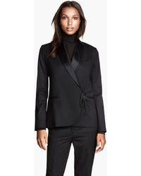 H&M Jacket in Merino Wool - Lyst