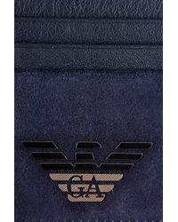 Emporio Armani Card Holder - Lyst