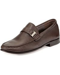 Bally Didi Deerskin Moc Loafer - Lyst