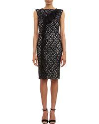 Nina Ricci Dentelle Lace Sleeveless Dress - Lyst