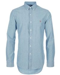 Ralph Lauren Blue Label Shirt - Lyst