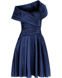 Anoushka G - Monica 1950`s Gathered Dress - Lyst
