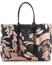 Lanvin Fringed Tote - Lyst