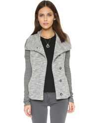 Beyond Yoga - Double Faced Mashed Jacket - Lyst