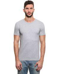 Dolce & Gabbana Cotton Jersey T-Shirt - Lyst