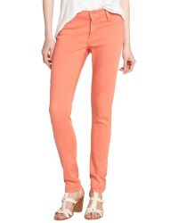 James Jeans Apricot Stretch Denim James Twiggy Skinny Jeans - Lyst
