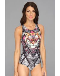 Mink Pink Tiger Tribe One Piece - Lyst