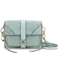She + Lo - Silver Lining Leather Camera Bag - Lyst