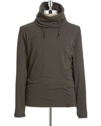 G-star Raw Cowl Neck Pullover - Lyst
