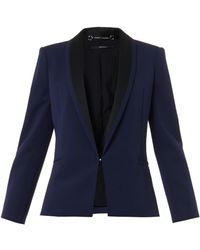 Gucci Bicolour Finedrill Tailored Jacket - Lyst
