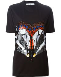 Givenchy Sequined T-Shirt - Lyst