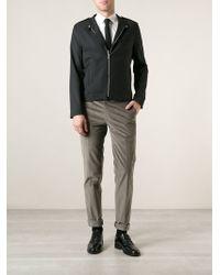 Brioni Slim Fit Trousers - Lyst