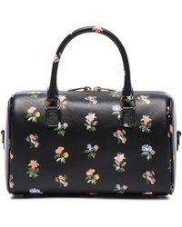 919e8236a5d3 Saint Laurent - Baby Grunge Flower Print Duffle Bag - Lyst