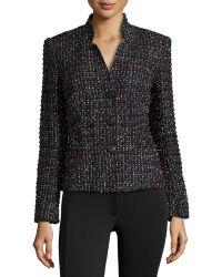 Lafayette 148 New York Menon Tweed 3-Button Jacket - Lyst