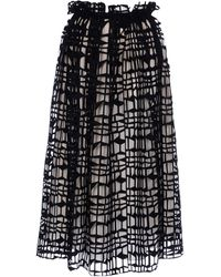 Roksanda Ilincic Long Skirt - Lyst