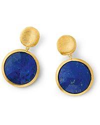 Marco Bicego Jaipur Lapis Earrings - Lyst