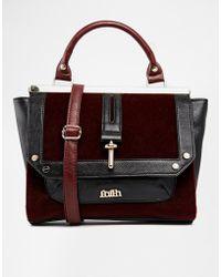 Faith - Faux Pony Pocket Grab Tote Bag - Lyst