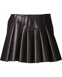 Alexander Wang Pleated Skirt - Lyst