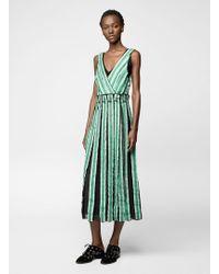 Proenza Schouler | Sleeveless Long Wrap Dress | Lyst