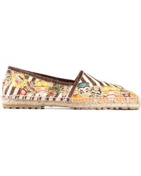 DSquared2 Multicolor Printed Espadrilles - Lyst