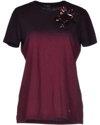 Gucci Purple T-shirt - Lyst