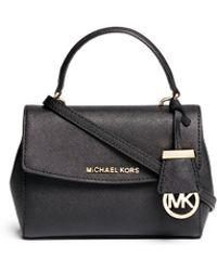 Michael Kors | 'ava' Petite Saffiano Leather Crossbody Bag | Lyst