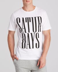 Saturdays Surf Nyc Rio Stacked Tee - Lyst