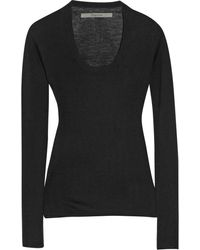 Enza Costa Fineknit Cashmere Sweater - Lyst