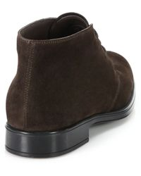 Tod's Polacco Gommino Bootie brown - Lyst