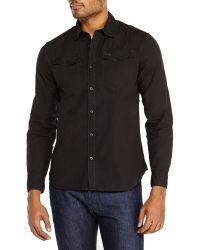 G-star Raw Long Sleeve Woven Sport Shirt - Lyst