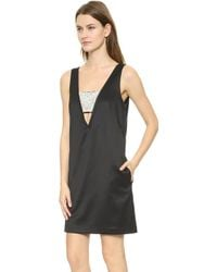 Club Monaco Darelle Dress - Black - Lyst